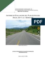 evaluacion de paa pro vias