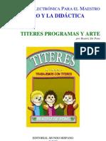 Titeres, Programas y Arte