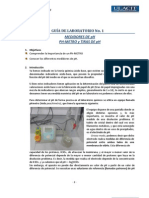 MEDIDORES DE pH PH-METRO y TIRAS DE pH