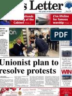 Belfast News Letter front page December 12
