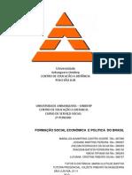 Formação Social.Economica e Politica do Brasil