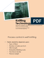 Knitting Production and Quality Control