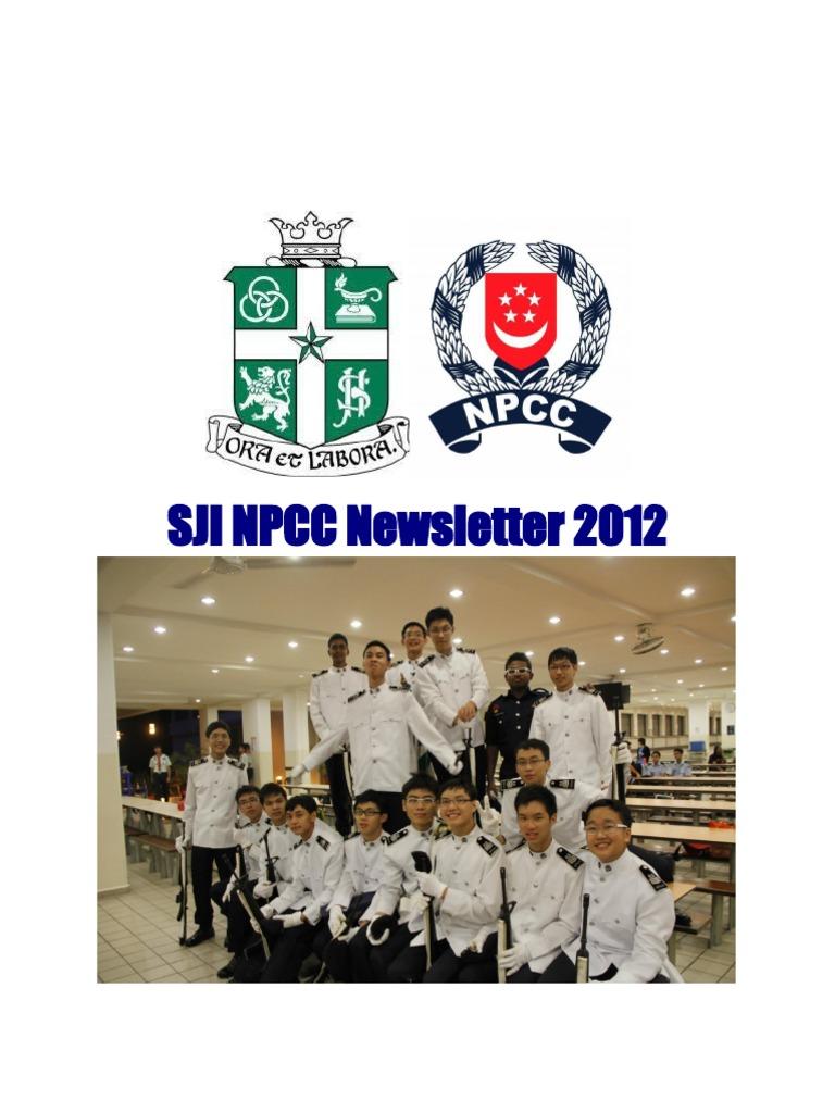 SJI NPCC Newsletter for 2012 | Personal Growth