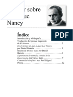 Dossier Jean Luc Nancy