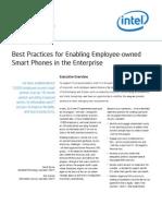 Enabling Employee Owned Smart Phones in the Enterprise