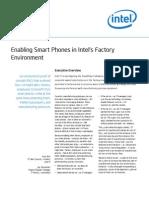Enabling Smart Phones Intel Factory Environment