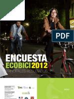 Encuesta Ecobici 2012 <Principales resultados>