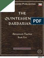 The Quintessential Barbarian II (v3.5)