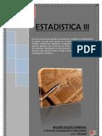 Estadistica III