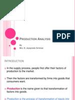 Unit IV-Production Function