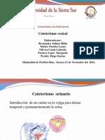 cateterismo vesica