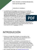 Ppt Gestion Educativa en El Peru 2000 2009