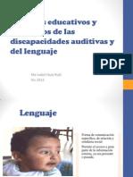 Aspectos Educativos y Evolutivos de Las Discapacidades Auditivas