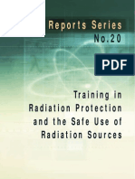 Safety_Report_Series_No.20_Training in Radiation Protection and the Safe Use of Radiation Sources