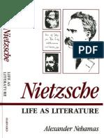 Nietzcshe Life as Literature