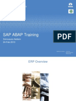 SAP Overview.