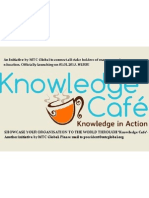 Knowledge Cafe--An MTC Global Initiative