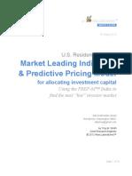 White Paper — Home Prices Leading Indicators — PREP-M™ Index