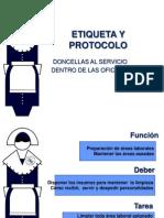 Etiqueta Doncellas