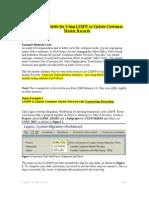 SAP LSME steps