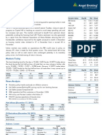 Market Outlook 19th Dec 2012