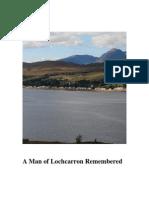 A Man of Lochcarron Remembred