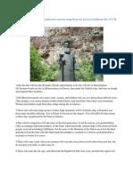 St. Kosmas Aitolos' Prophecies Concerning Wars in Greece & the Balkans (d. 1779)