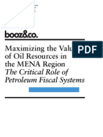 BoozCo Maximize Value Oil Resources MENA