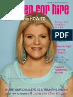 Women For Hire Magazine- Summer 2007