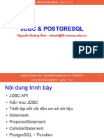 08 Java Programming Jdbc Postgresql