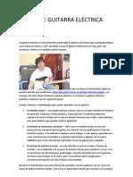 CLASES DE GUITARRA ELÉCTRICA GRATIS