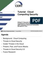 Cloud Computing Security Tutorial