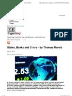 States Banks and Crisis