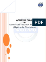 Training Report on Volvo Construction Equipment