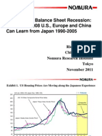 NOMURA - The World in Balance Sheet Recession