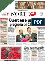 Periodico Norte de Ciudad Juárez 19 de Diciembre de 2012