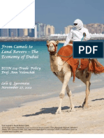 From Camels to Land Rovers – The Economy of Dubai