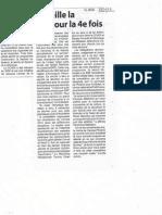 Article in Weekend Newspaper