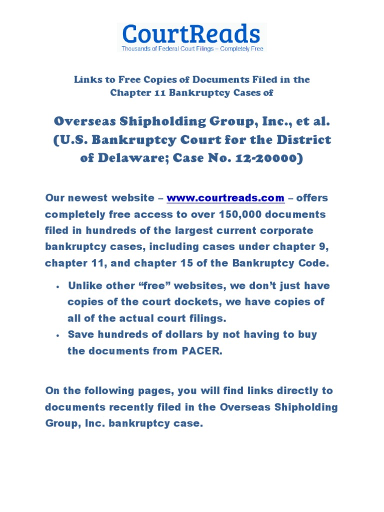 dendreon bankruptcy docket sheet