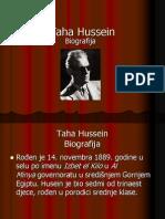 Taha Hussein Biografija