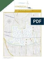 Desert Claim Wind Farm Map - Re Configured - Feb 2009