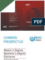 IGNOU Prospectus