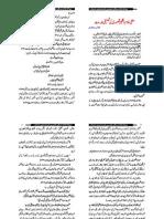 An Article of Muhammed Saqib Qadri