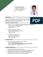 Resume of Kamal Sharif