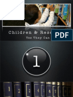 Children and Research Slides