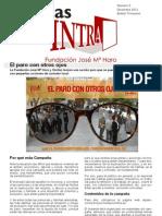 Boletín de noticias nº 5, Diciembre 2012