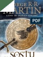 George R.R Martin Sostų žaidimas 2012