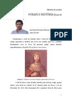 08 Concelho de Mora - Forais e História - Parte 3