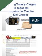 Ranking tasas y cargos Tarjetas Crédito Grupo III
