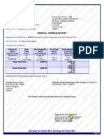 Lic Receipt | Applications Of Cryptography | Services ...